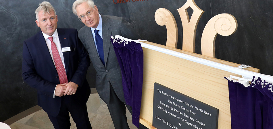 180919 HRH The Duke of Gloucester officially opens the RCC North East 2